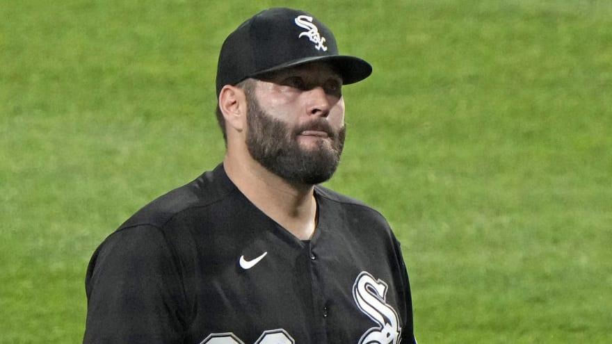 White Sox place starter Lance Lynn on injured list
