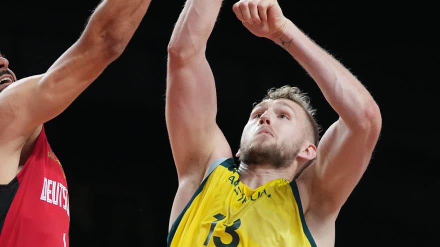 Spurs sign 2021 NBL Grand Final MVP Jock Landale