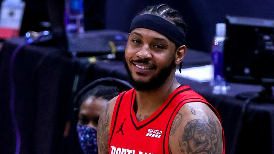 Carmelo: 'Special moment' to reach No. 10 on scoring list