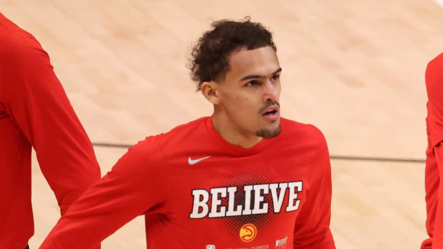 Watch: Trae Young makes surprise WWE appearance at Madison Square Garden