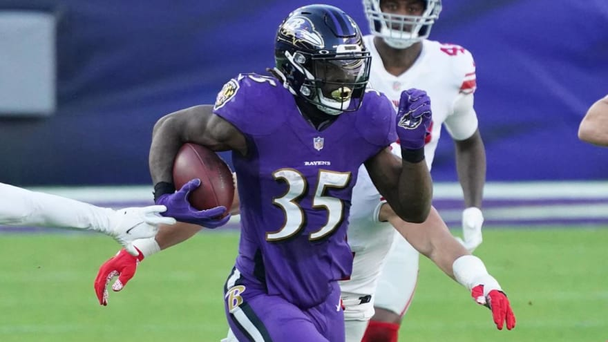 Ravens, Gus Edwards agree to two-year, $10 million extension