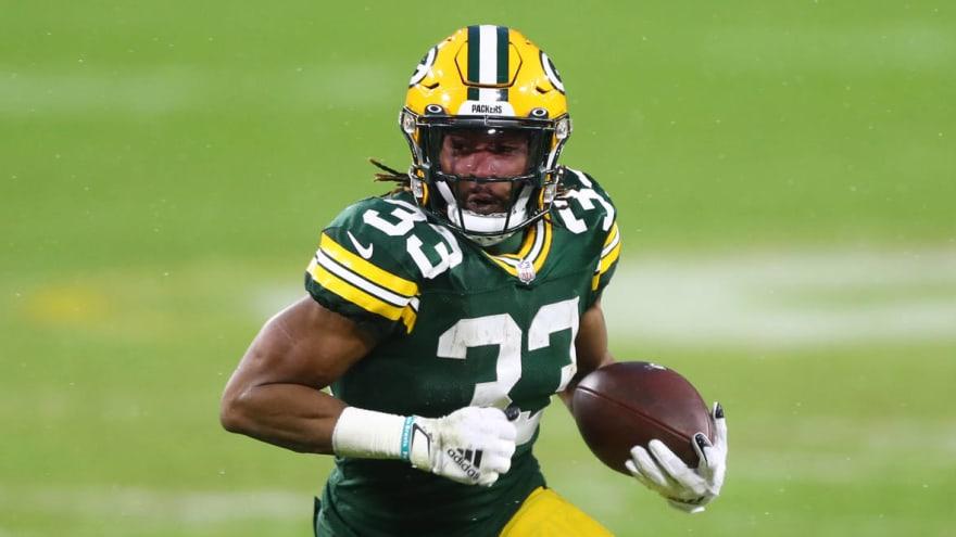 Aaron Jones rejected 'top-five' RB money from Packers?