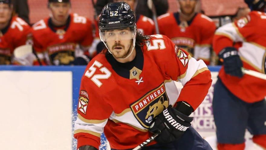 Panthers defensemen MacKenzie Weegar, Brandon Montour fined after chippy game with Lightning