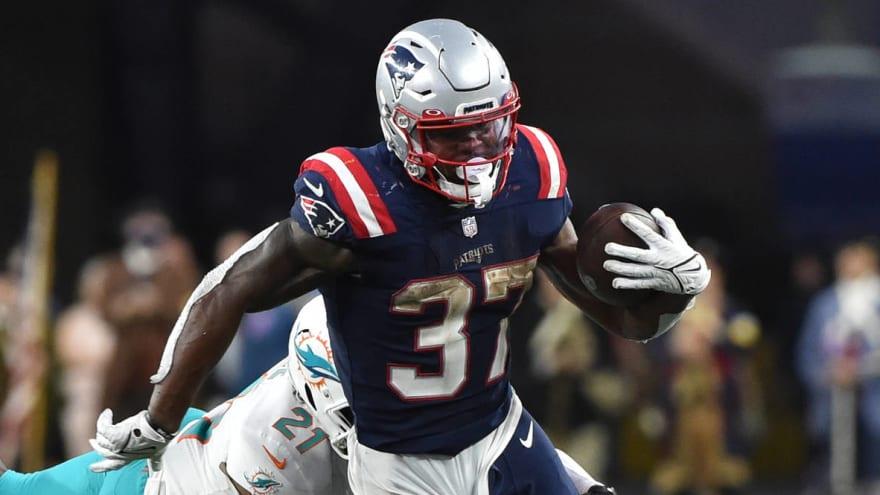 Patriots' Damien Harris won't let crucial late-game fumble define him