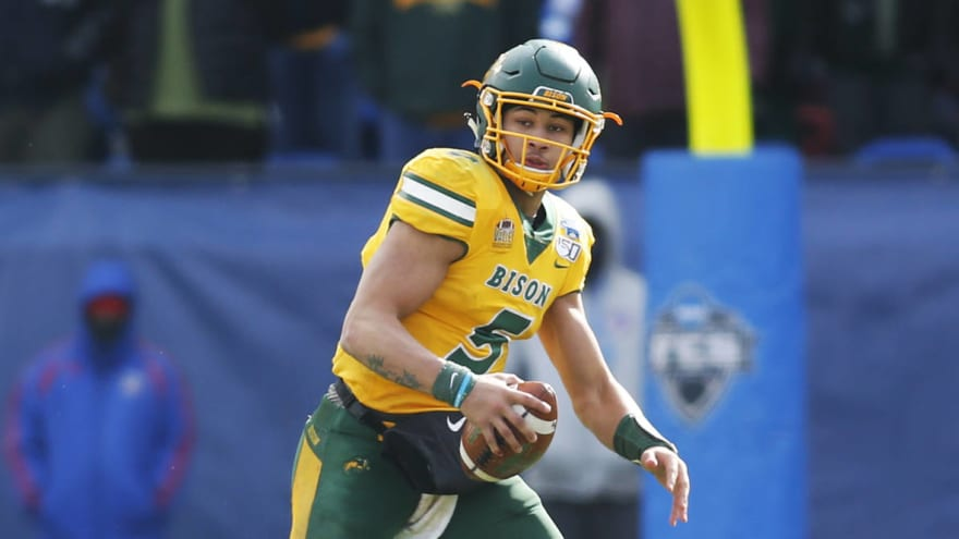 Top QB prospect Trey Lance declares for NFL Draft