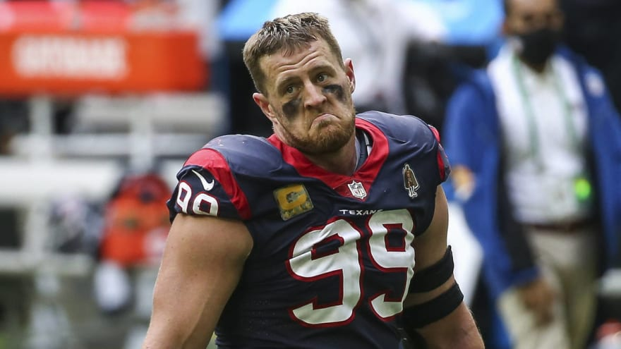 Packers emerge as betting favorite to sign J.J. Watt