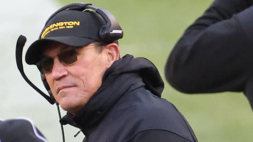Washington Football Team coach Ron Rivera is cancer-free