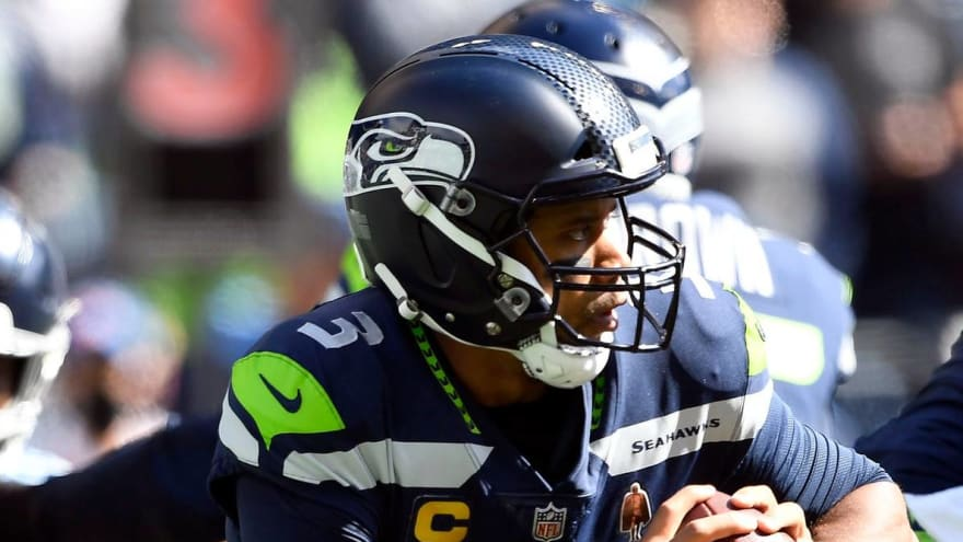 This Russell Wilson play should have been called a safety for Titans