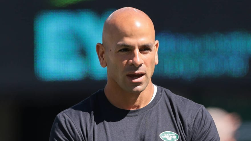 Jets HC Robert Saleh comments on Zach Wilson's four-INT game