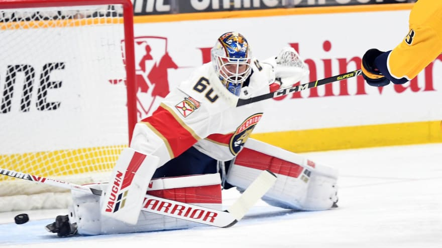 Kraken expected to select Panthers goaltender Chris Driedger in expansion draft