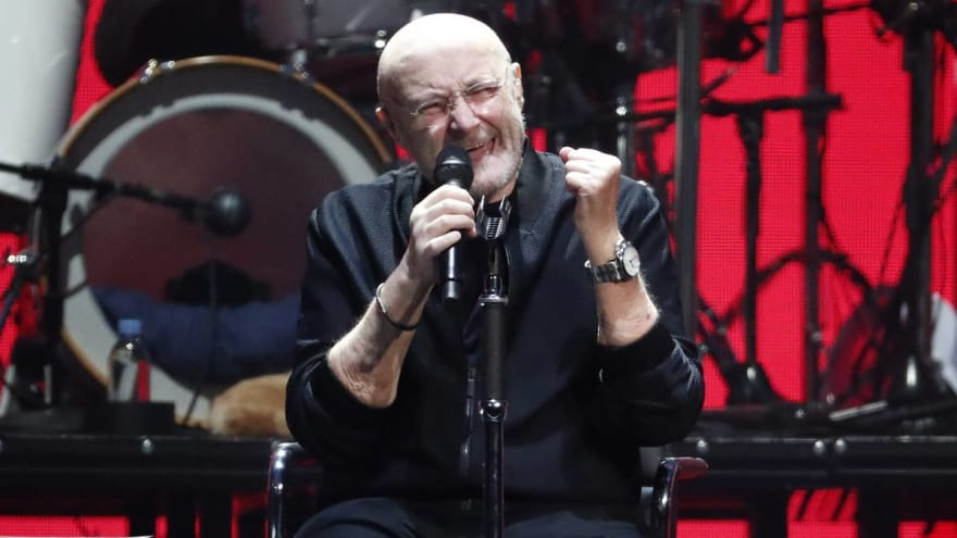 Phil Collins won't play drums on the Genesis reunion tour: 'I'm physically challenged a bit'