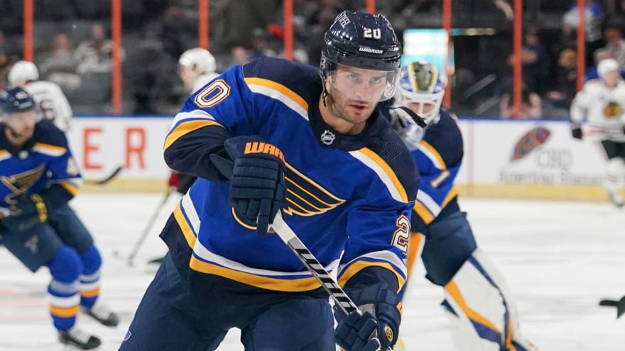 Blues' Brandon Saad out vs. Kings due to COVID-19