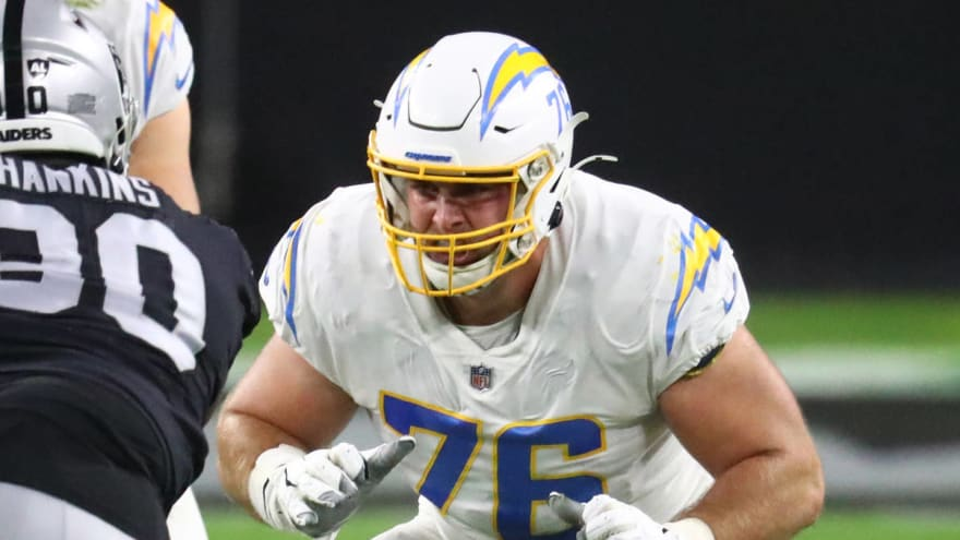Bills sign guard Forrest Lamp to one-year deal