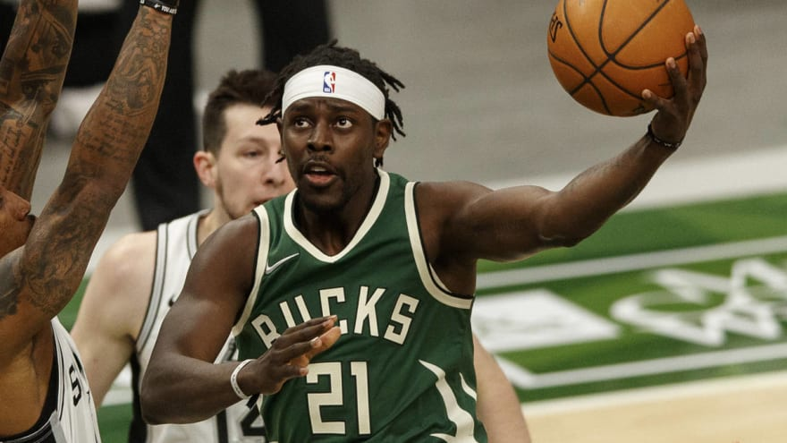 Jrue Holiday, Bucks agree to four-year extension worth up to $160M