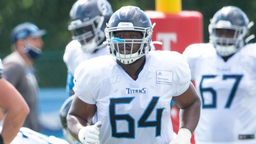 Titans guard Nate Davis to command top money for his position with his next contract?