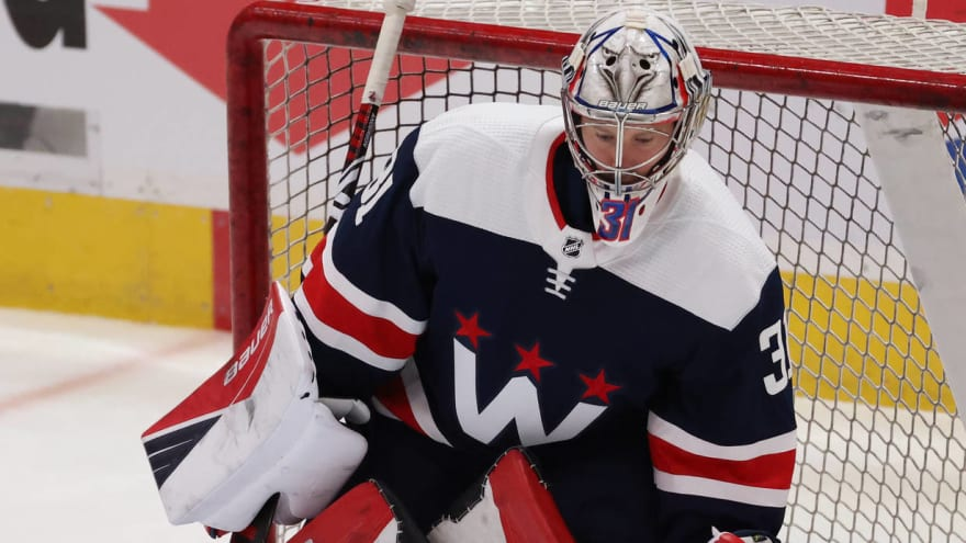 Capitals' Craig Anderson could get Game 2 start