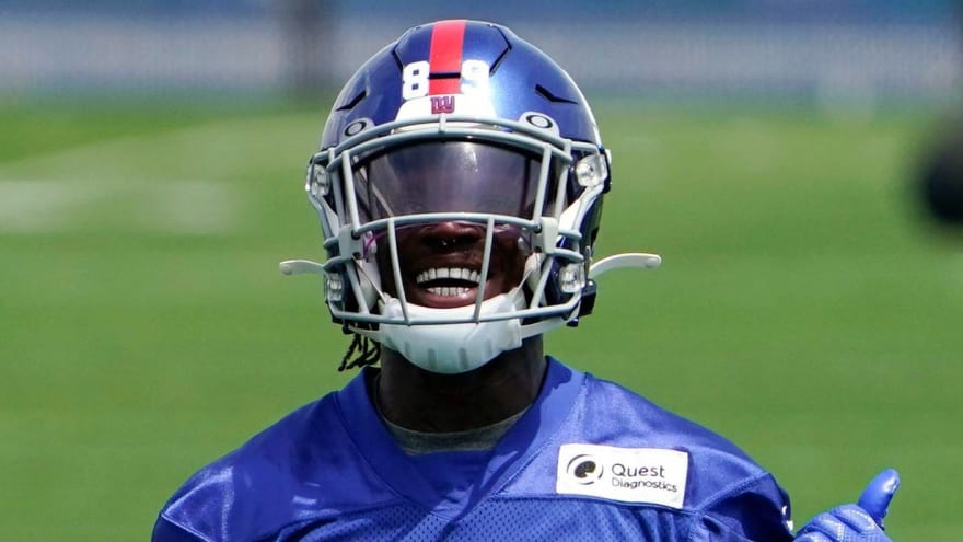 Giants rookie WR Kadarius Toney looking to scratch that itch to play