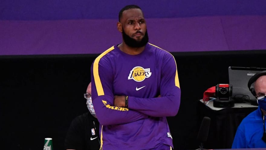 LeBron James out Wednesday vs. Rockets to rest ankle