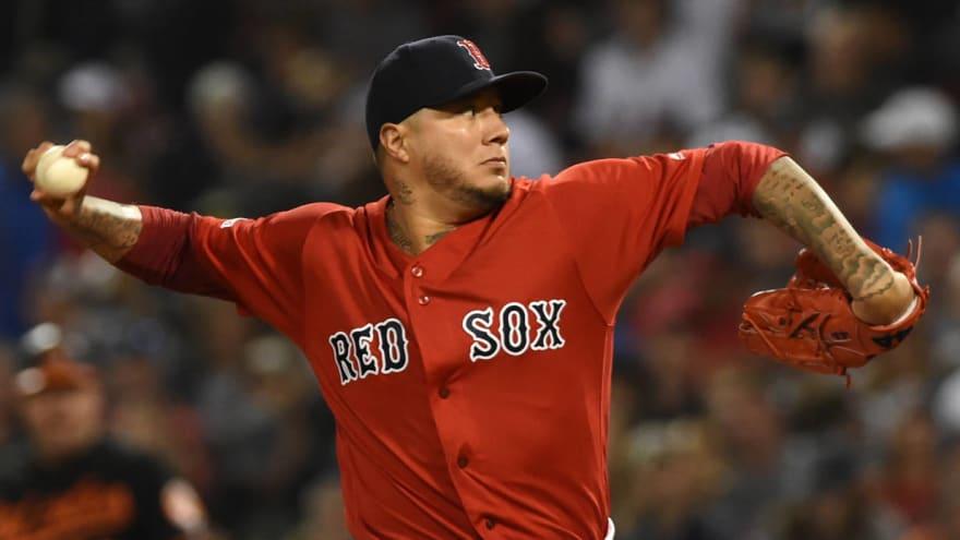 Astros release Hector Velazquez