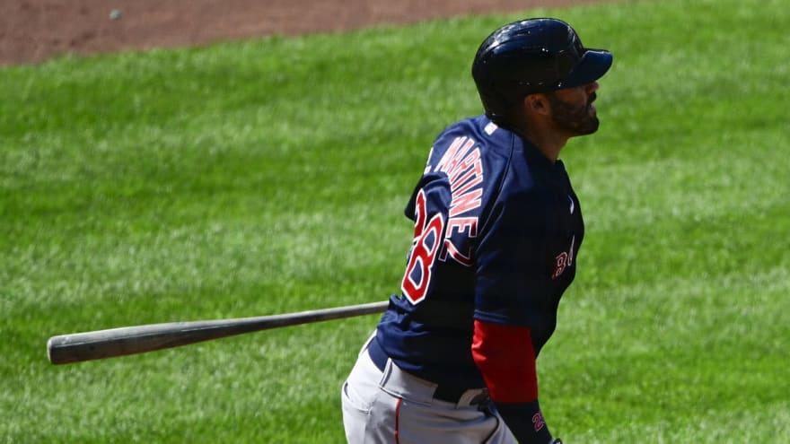David Ortiz impressed after J.D. Martinez hits three homers