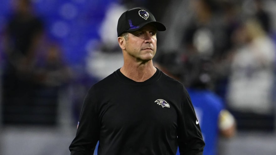 Harbaugh: Fourth-down decision was a no-brainer