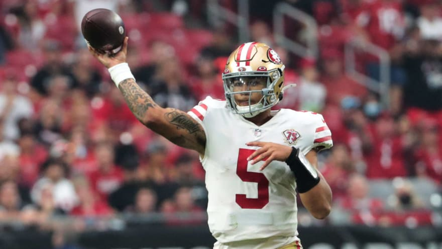 49ers QB Trey Lance could miss time with knee sprain