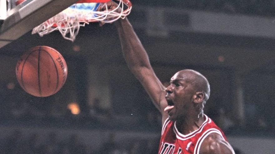 Hang time: Check out 23 epic Michael Jordan dunks