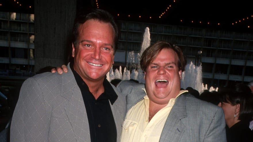 Tom Arnold explains how Chris Farley dancing abruptly ended his bachelor party