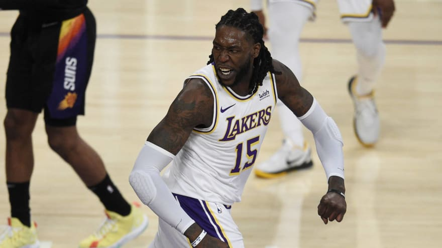 Angry Montrezl Harrell lashes out in tweet after Lakers' Game 4 loss
