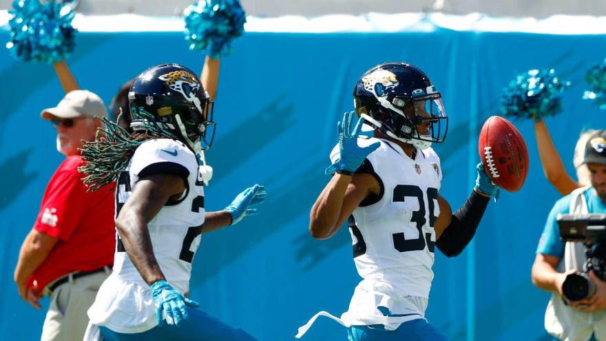 Jags' Agnew scores TD on 109-yard kick-six after missed FG try