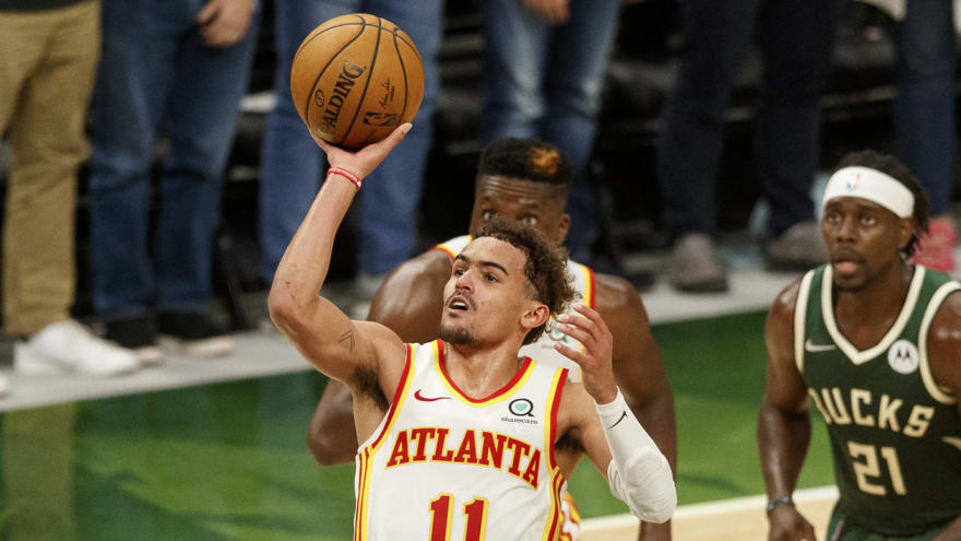 Trae Young puts up historic performance in Game 1 vs. Bucks