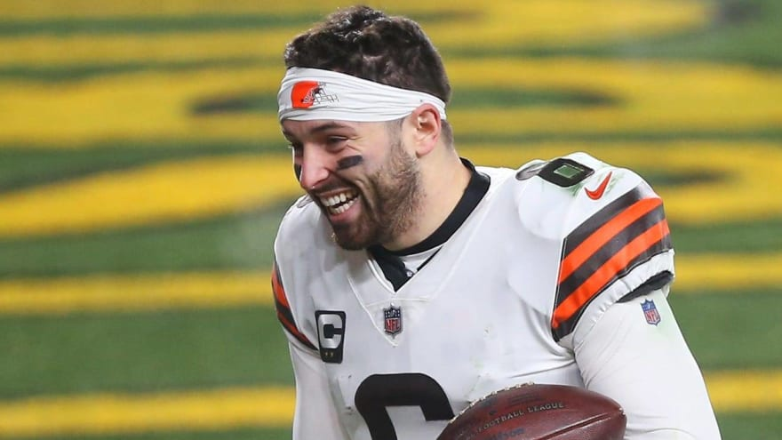Baker Mayfield indicates he's vaccinated against COVID-19