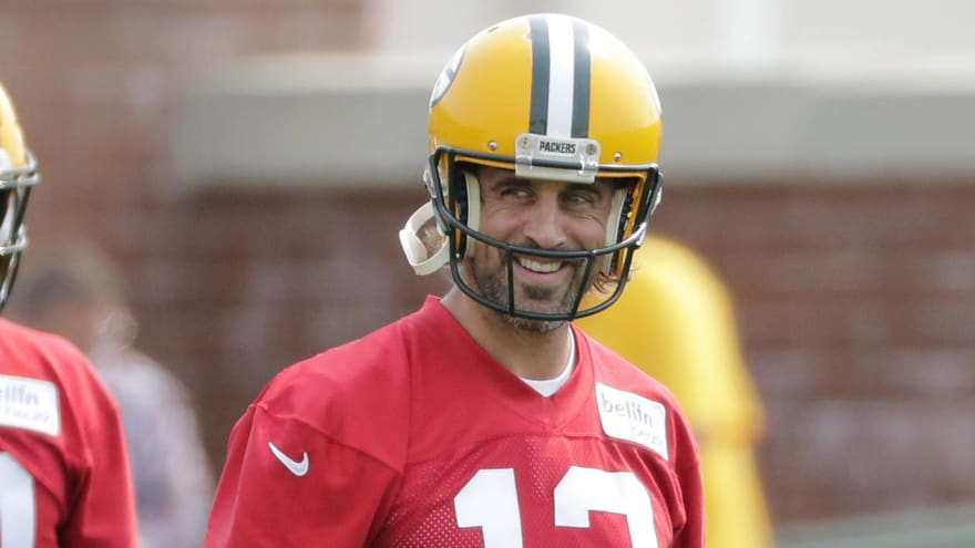Aaron Rodgers: Returning to Packers is 'the best feeling'