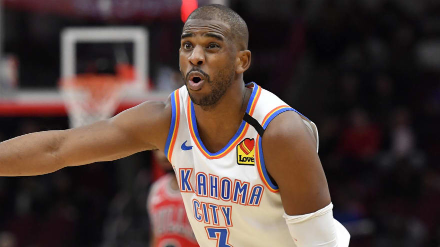 Thunder trade Chris Paul to Suns