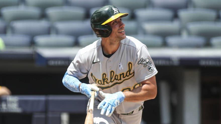 A's slugger Matt Olson to compete in 2021 Home Run Derby