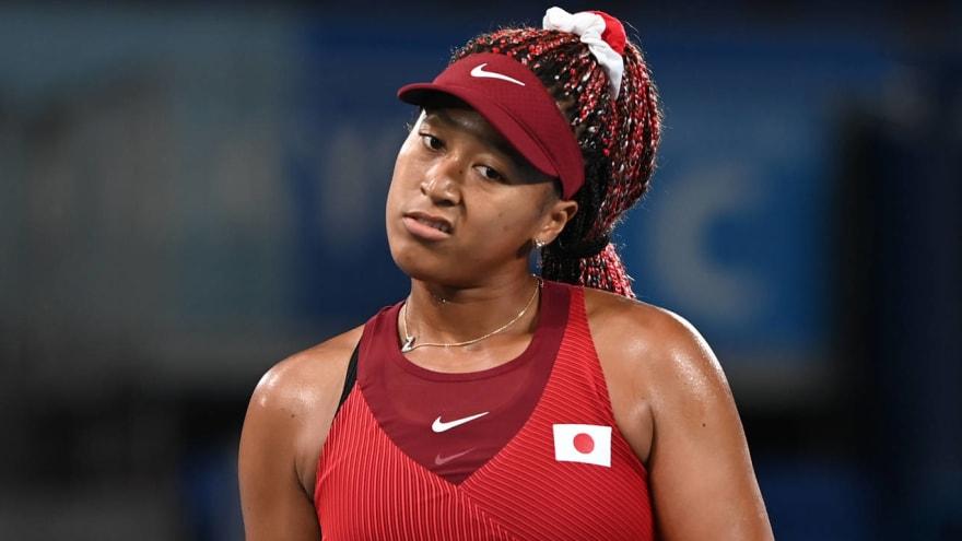 Naomi Osaka loses in third round at Olympics