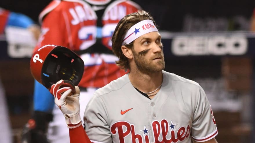 Phillies' Bryce Harper: We need more homegrown talent