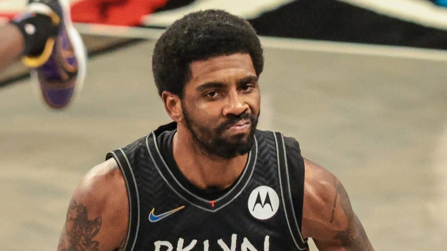Nets' Irving out for Game 5 vs. Bucks with ankle sprain