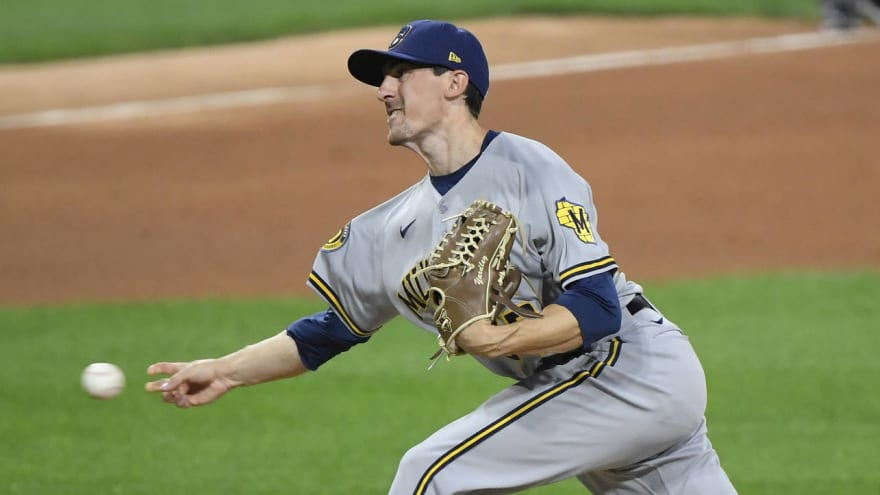 Brewers' injury woes continue, RHP Eric Yardley latest to head to injured list