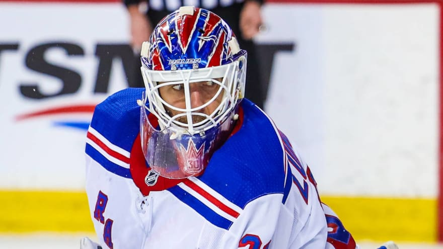 Caps won't rule out a Henrik Lundqvist return this season