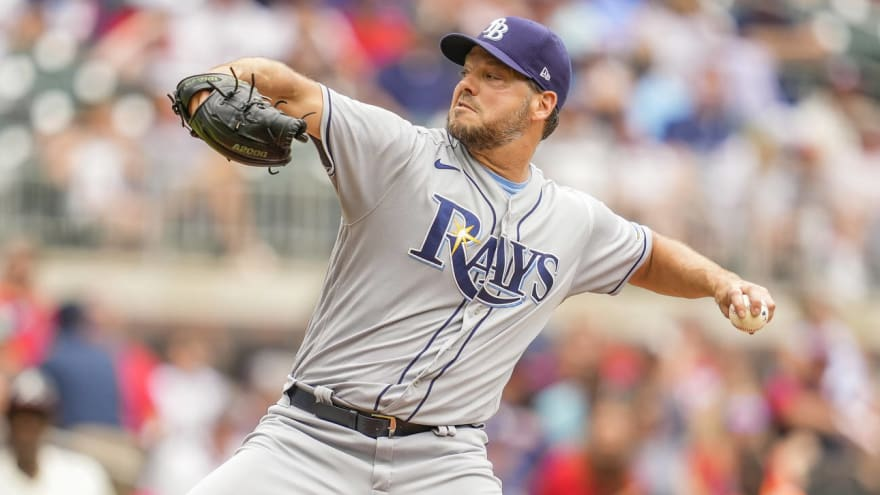 Mets acquire LHP Rich Hill from Rays