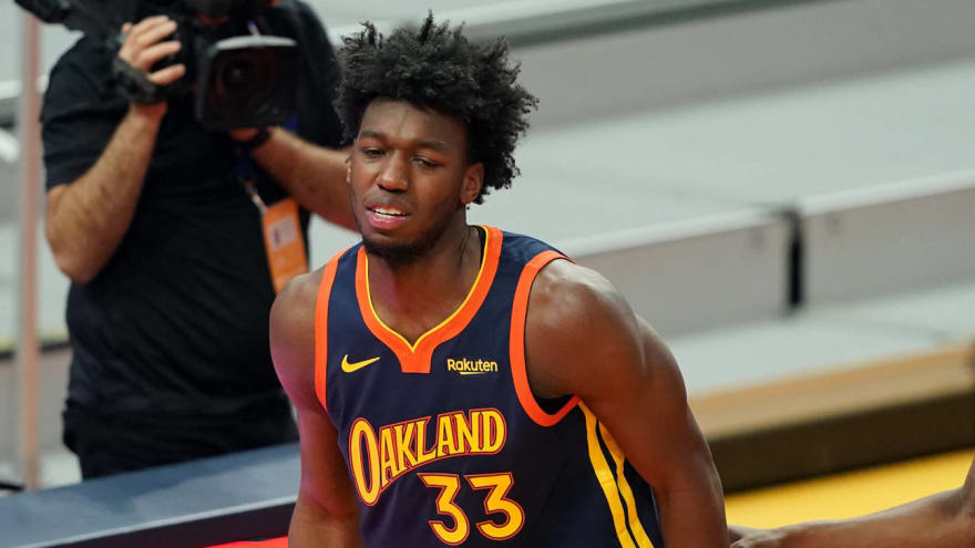 James Wiseman could miss rest of the season with torn meniscus