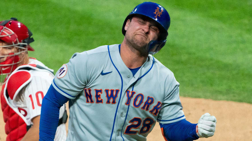 Mets place J.D. Davis on 10-day IL, select Jose Peraza