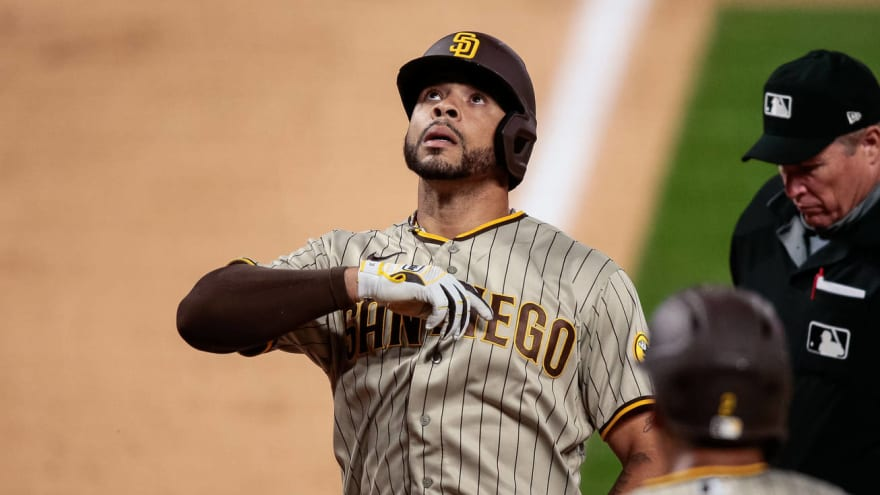 Padres' Tommy Pham out 4-6 weeks with broken hand