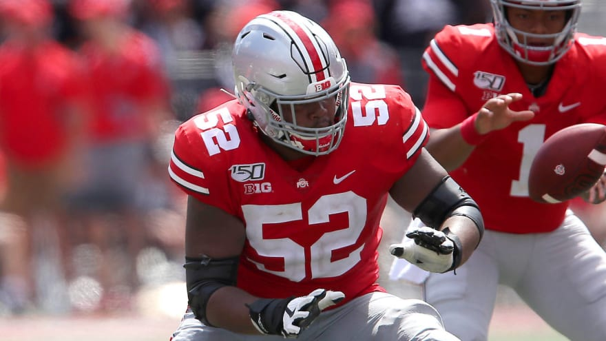 Wyatt Davis becomes first Ohio State player to opt out of 2020 season, declare for draft