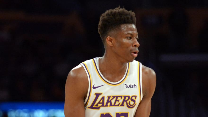 Kostas Antetokounmpo away from Lakers due to personal matter