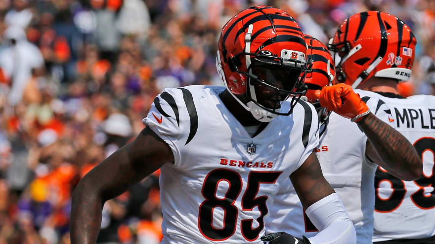 Tee Higgins has good reason for changing jersey number