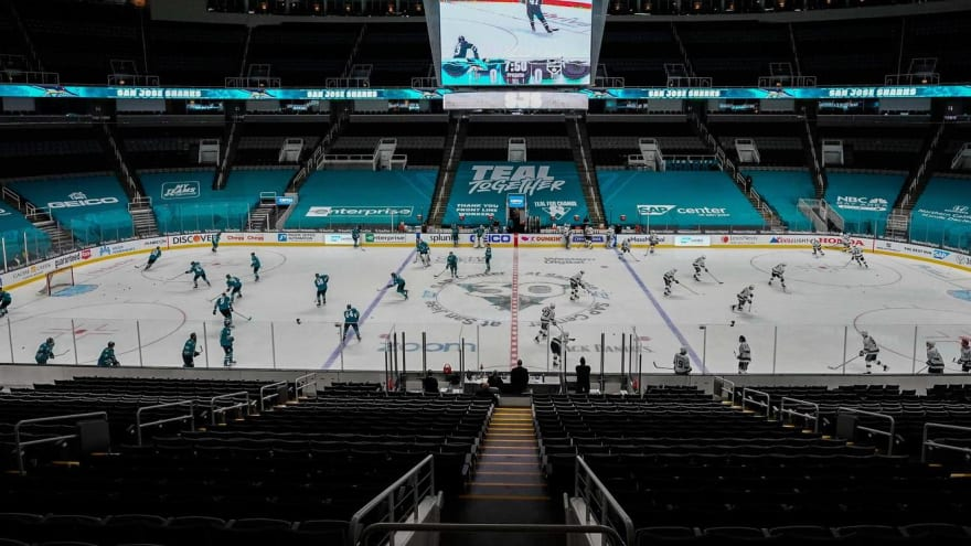 Sharks associate coach steps down, unable to get COVID vax