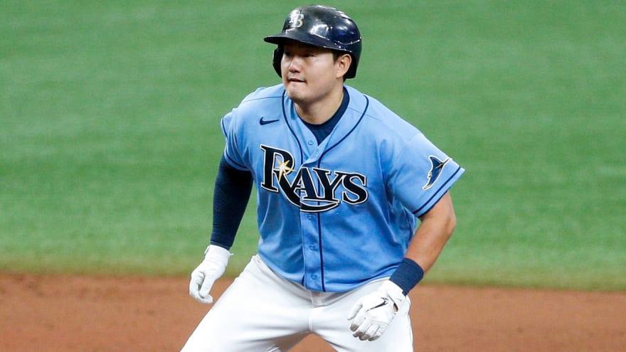 Rays reinstate first baseman Ji-Man Choi from 10-day IL