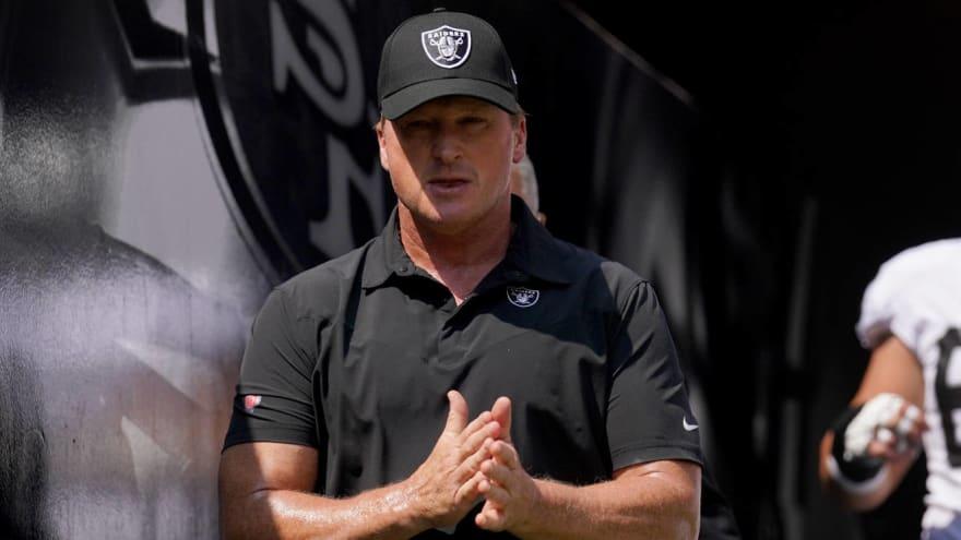 Jon Gruden resigns as head coach of Raiders